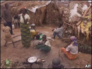 Деревня в Бурунди