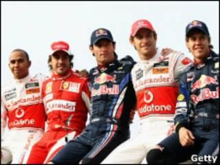 Лидеры Формулы-1