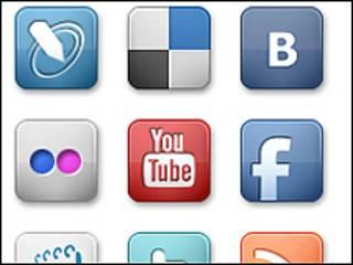 Кнопки-ссылки на популярные интернет-ресурсы