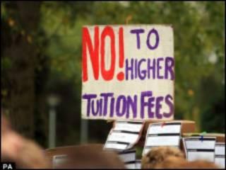 抗议涨学费