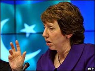 Catherine Ashton, jefa de la diplomacia europea