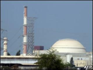 Instalação nuclear de Bushehr, no Irã