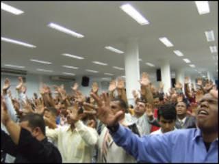 Igreja evangélica no Rio de Janeiro