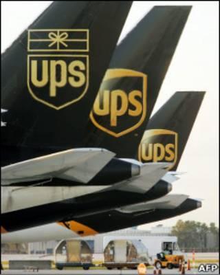 Máy bay của hãng UPS