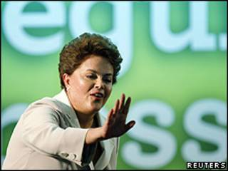 Presidenta electa de Brasil