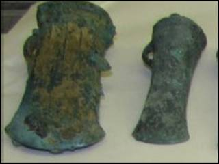 Железные топоры бронзового века