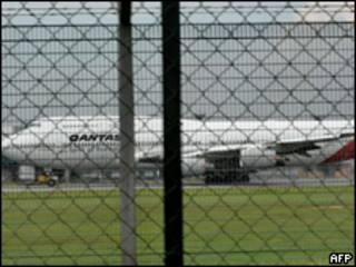 Boeing da Qantas (Foto: AFP)