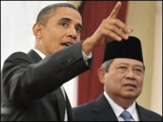 Shugaba Obama da Shugaba Susilo Bambang Yudhoyono