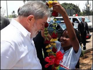 Lula em Moçambique
