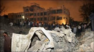 कराची में विस्फोट