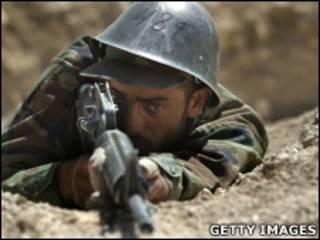 سرباز افغان