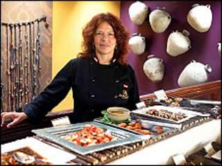 Chef peruana Isabel Álvarez