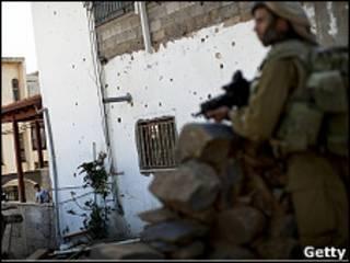 Израильские войска в Гайаре