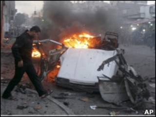 Ataque alvejou carro de Islam Yassin