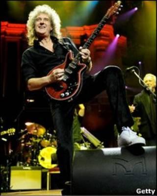 Brian May của ban nhạc Queen