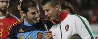 Casillas y Ronaldo