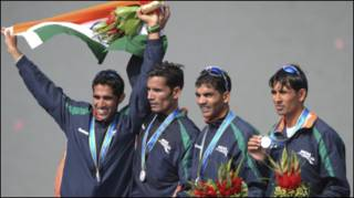 भारतीय रोइंग टीम