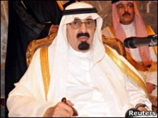 الملك السعودي عبد الله بن عبد العزيز