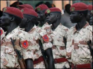 Wasu sojojin Kudancin Sudan