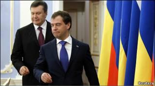 Президенти України і Росії