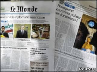 Газета Monde