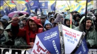 Підприємці протестують у Києві
