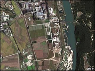 Схема северокорейского реактора