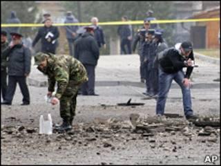 Взрыв в Бишкеке