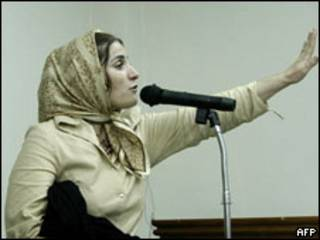 Jahed durante seu julgamento, em 2004