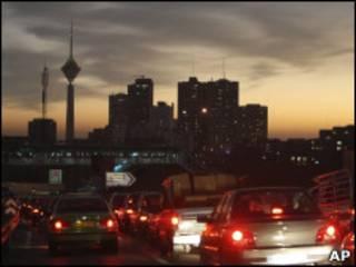 Смог в Тегеране