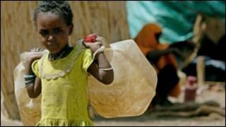 Karancin tsaftataccen ruwa a Afrika
