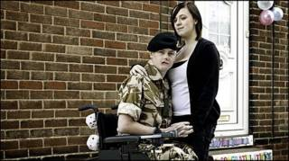 Craig Wood e Vicky Swales