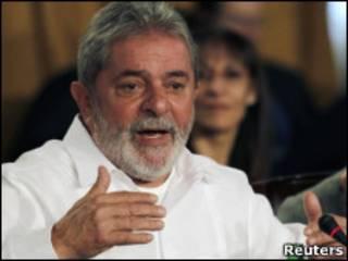 Lula em Mar Del Plata