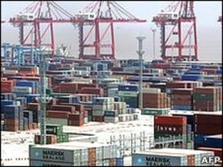 Puerto de Ningbo, en el sudeste de China