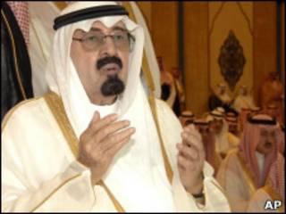 ملک عبدالله، پادشاه عربستان