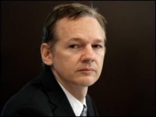 Julian Assange/foto de arquivo