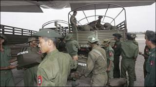 बर्मा की सेना