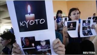 Công dân Canada biểu tình tại Hội nghị khí hậu Cancun