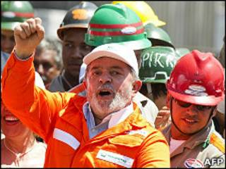 Lula em divulgação do PAC