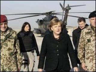 Меркель в Афганистане