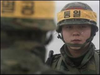 दक्षिण कोरियाई सैनिक