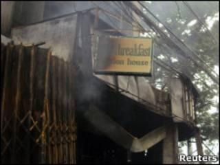 Пожар в отеле на Филиппинах