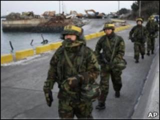 نظامیان کره جنوبی