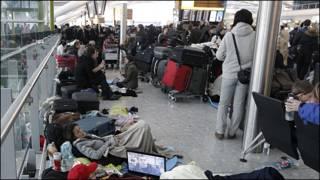 Hành khách tại Heathrow