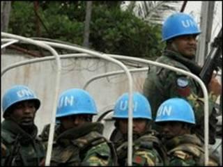 نیروهای حافظ صلح سازمان ملل در ساحل عاج