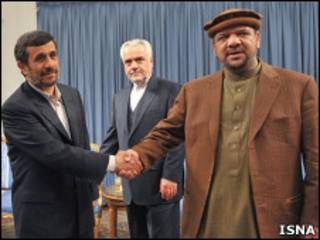 ښاغلی فهیم په ایران کې