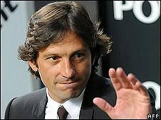 An nada Leonardo sabon kocin Inter