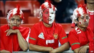 Индонезийские болельщики