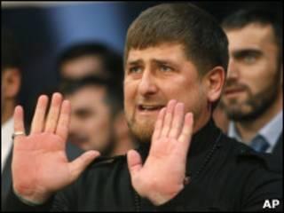 Глава Чечни Рамзан Кадыров