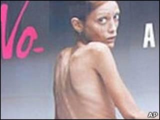 Người mẫu Isabelle Caro